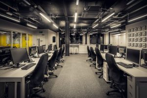 Painting services for office spaces and cubicles in Greenville